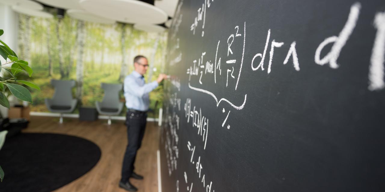 professor, writing, blackboard