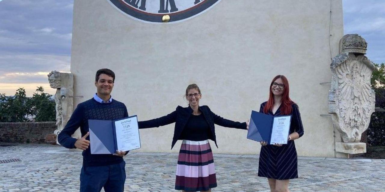 Students, Schloßberg, award ceremony, Best of South East