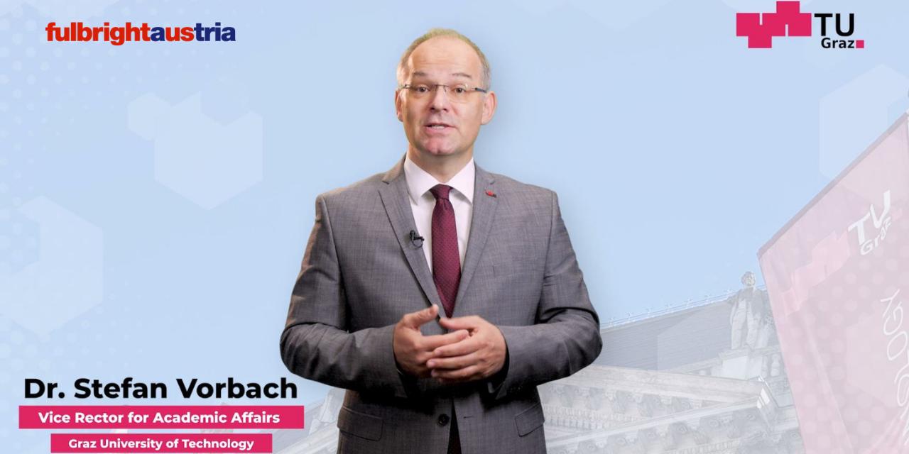 vice rector, speech, Fulbright Austria