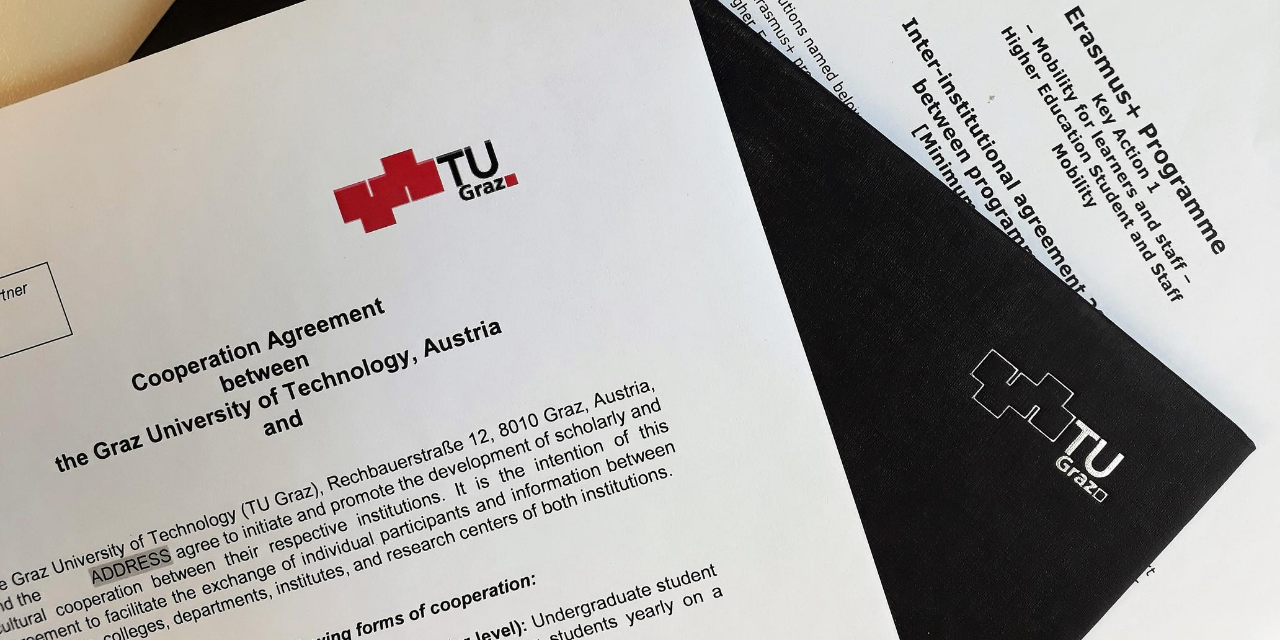 contracts, documents, TU Graz