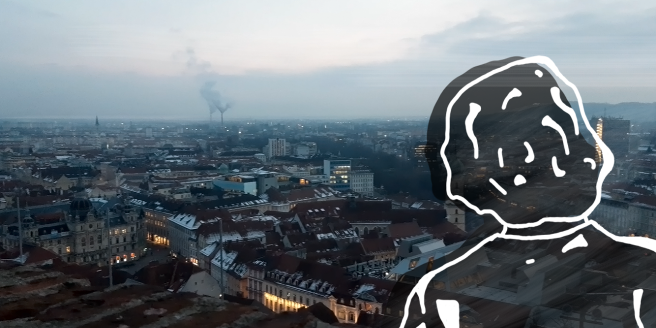 Graz, Schlossberg, city view, Übersicht, Stadt, incoming student