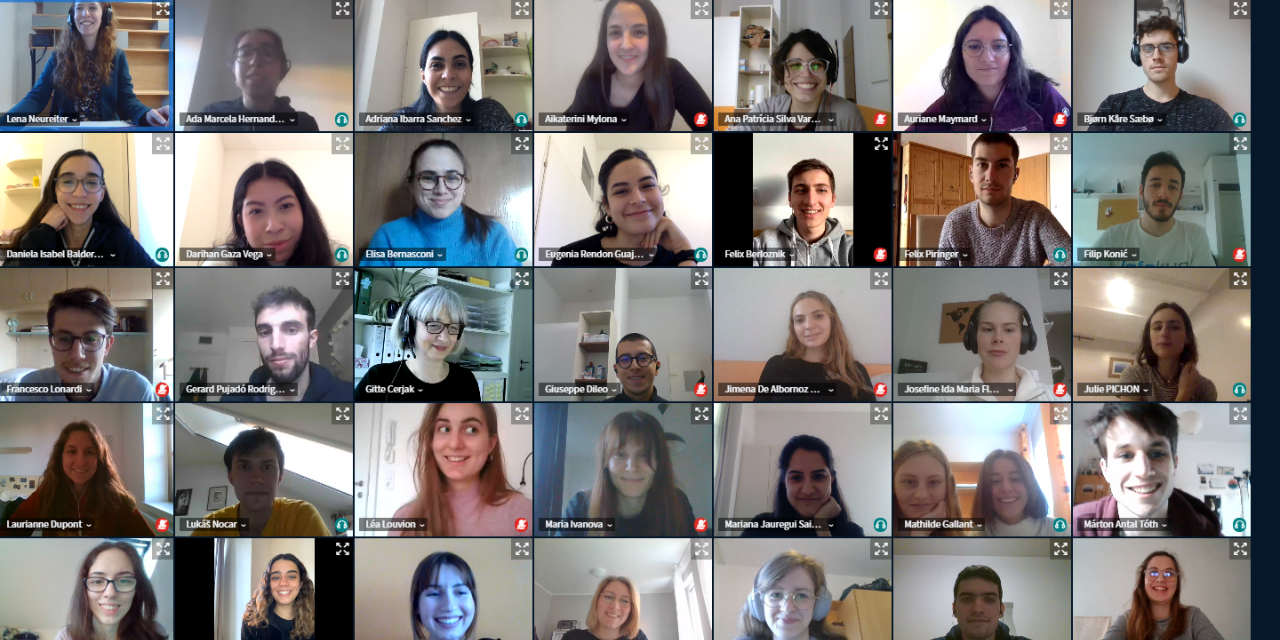 webex, online, orienation session, first welcoming