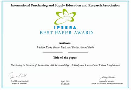 IPSERA Award