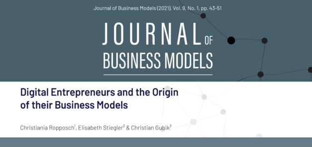 Our latest contribution in the Journal of Business Models is available now