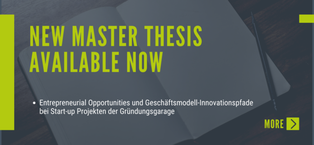 New Master Thesis Available Now!