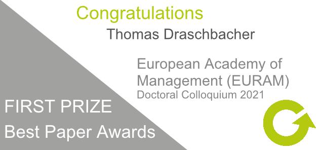 Congratulations to Thomas Draschbacher