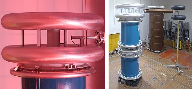 NEU: 800-kV-DC-Prüfanlage - Mai 2017