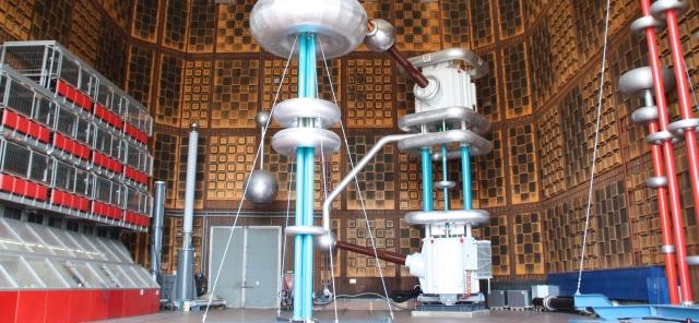 Nikola Tesla Labor - Innenansicht