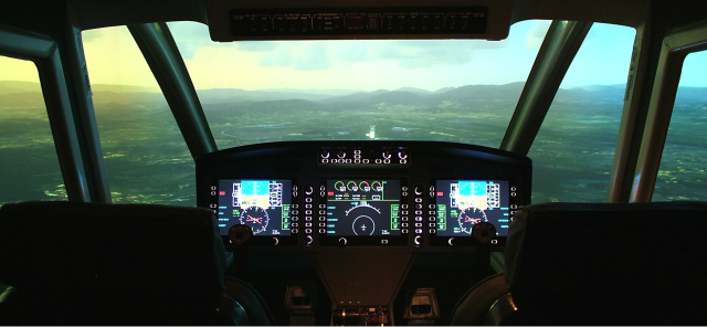 Flightsimulation