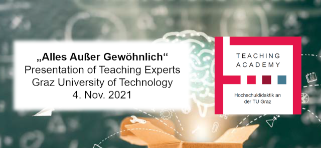 """""""Everything but ordinary"""": Presentation of the first Teaching Expert Certificates at Graz University of Technology"""