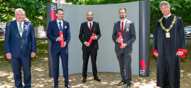 Dr. Thomas Ulz received Doctoral Degree under the auspices of the President of Austria